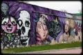 Ściana z graffiti