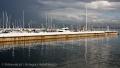 Marina przy molo w Sopocie