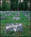 cmentarz żołnierzy włoskich - nagrobki
