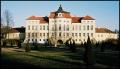 Pałac w Rogalinie od strony ogrodu  francuskiego