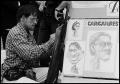 karykaturzysta z mostu Karola