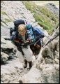 Orla Perć - wpinaczka łańcuchowa