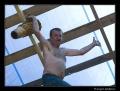 bębniarz-akrobata