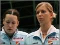 Kasia Mroczkowska i Bogusia Barańska