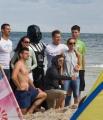 Lord Vader na plaży